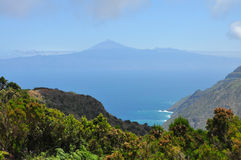 From la gomera to tenerife Royalty Free Stock Image