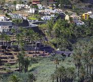 La Gomera. Valle Gran Rey Stock Photo
