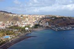 La Gomera van San Sebastian DE royalty-vrije stock fotografie
