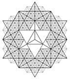 La géométrie sacrée Photographie stock libre de droits
