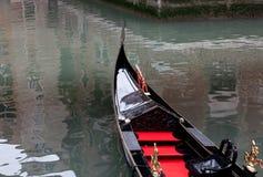 Gondole en rouge Photos libres de droits