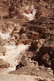 La gorge colorée, Egypte Image libre de droits