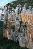 La gorge dans la région d'Espagnol de Navarra Photo libre de droits