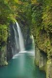 La gorge de Takachiho sur l'île de Kyushu, Japon Image stock