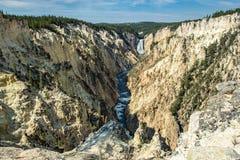 La gorge grande de Yellowstone Images stock
