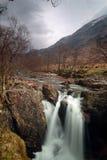 La gorge Niévès abaissent des chutes Photo stock