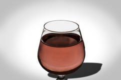 La goutte de l'eau en vin Photos libres de droits
