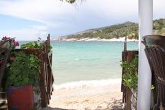 La Grèce, île de marbre de Thassos Photographie stock libre de droits