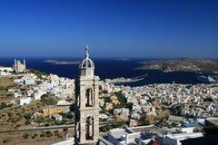 La Grèce, île de Syros image libre de droits