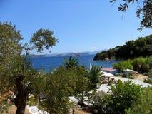 La Grèce, île Skiathos Photographie stock