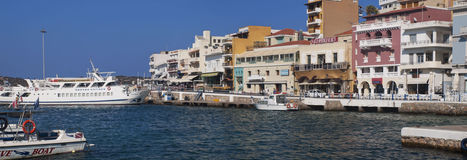 La Grèce Agios Nikolaos photos stock