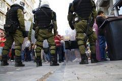 La Grèce, Athènes, 18 octobre 2012 Photographie stock libre de droits