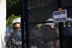 La Grèce, Athènes, 18 octobre 2012 Image libre de droits