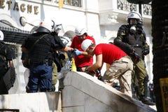 La Grèce, Athènes, 18 octobre 2012 Photos stock