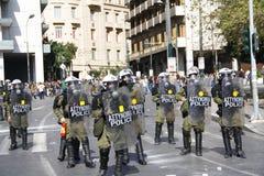 La Grèce, Athènes, 18 octobre 2012 Images libres de droits
