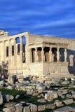La Grèce, Athènes - Erechtheum   Images libres de droits