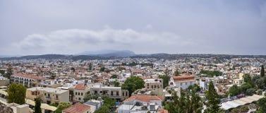 La Grèce Crète occidentale Rethymnon photos libres de droits