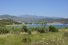 La Grèce, Eastmacedonia, Kavala Images stock