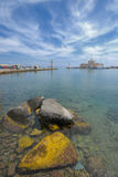 La Grèce en le véhicule photographie stock libre de droits