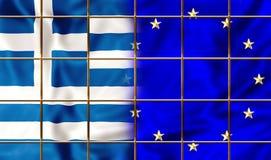 La Grèce et l'Europe illustration libre de droits