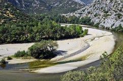 La Grèce, gorge de Nestos image libre de droits