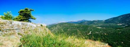 La Grèce-Kefalonia beauty3 montagneux images libres de droits