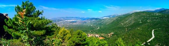 La Grèce-Kefalonia beauty1 montagneux photo libre de droits