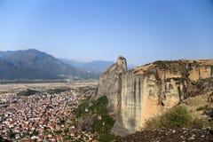 La Grèce. Meteora Photos libres de droits