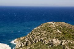 La Grèce Rhodes Photographie stock libre de droits