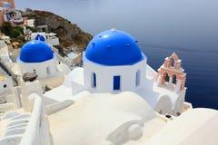 La Grèce, Santorini Images libres de droits