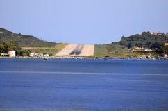 La Grèce, Skiathos, piste Photo libre de droits