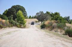 La Grèce, un safari de jeep par la péninsule de Halkidiki photo stock