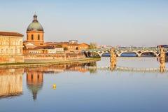 La Grace Hospital, Toulouse, Frankrike arkivbilder