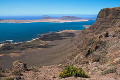 La Graciosa Immagine Stock
