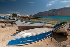 La Graciosa Royalty Free Stock Image