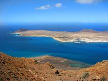 La Graciosa Island Stock Images