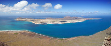 La Graciosa Island Royalty Free Stock Photography