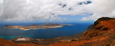 La Graciosa island Stock Photos