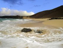 La Graciosa island, Canary Islands, Spain. On a sunny afternoon Royalty Free Stock Image