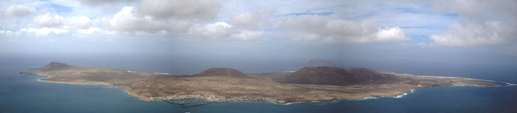 La Graciosa Island Royalty Free Stock Photo