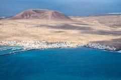 La Graciosa, Lanzarote royalty-vrije stock foto's