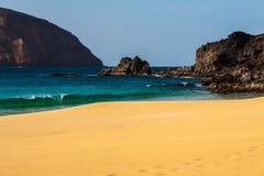 Tropical  paradise beach of Canary Royalty Free Stock Photo
