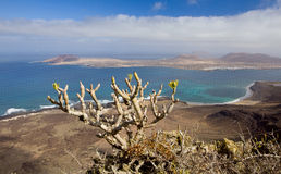 La Graciosa Royalty Free Stock Photography