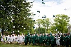 La graduazione di Alumi della scuola di Winchendon Immagini Stock Libere da Diritti
