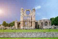 La gran abadía vieja arruina Escocia Fotos de archivo libres de regalías