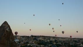 La gran atracción turística de Cappadocia - hinche el vuelo casquillo Colina, belleza