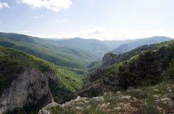 La gran barranca de Crimea Foto de archivo libre de regalías