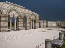 La gran basílica Foto de archivo