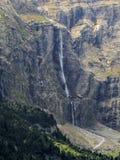 La gran cascada Fotografía de archivo libre de regalías