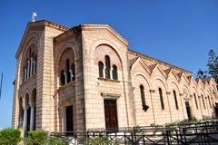 La gran iglesia de la iglesia ortodoxa griega Foto de archivo